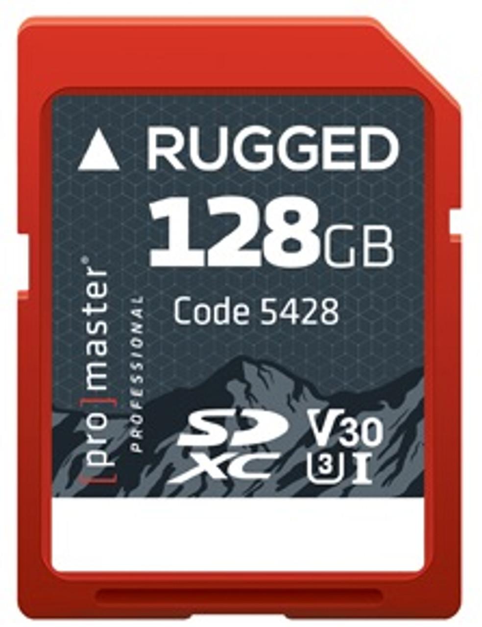 ProMaster 128GB SDXC Rugged UHS-I