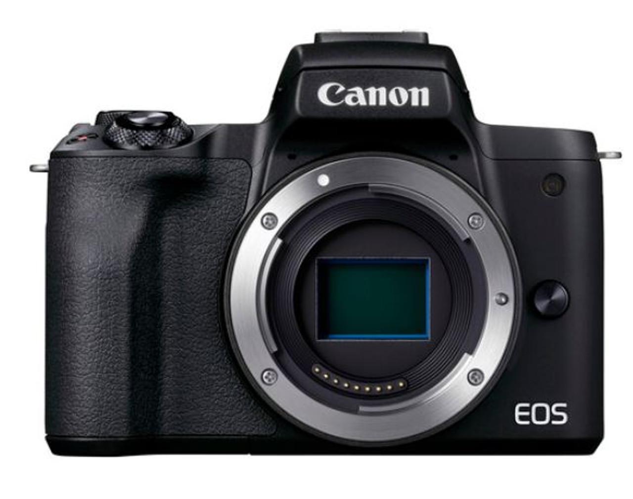 Canon EOS M50 Mark II Mirrorless Camera - Body Only