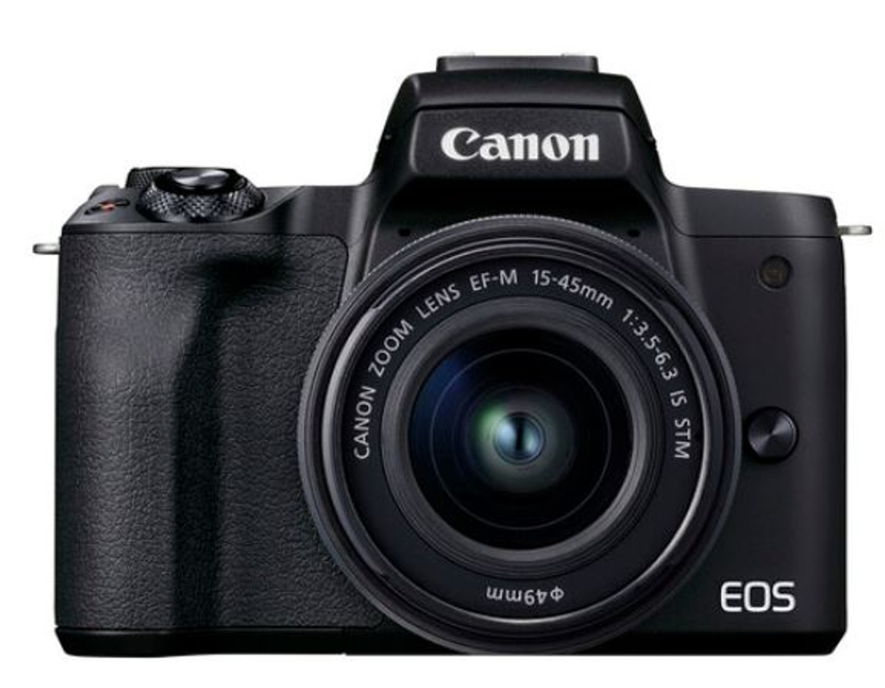 Canon EOS M50 Mark II Mirrorless Camera with EF-M 15-45mm IS STM