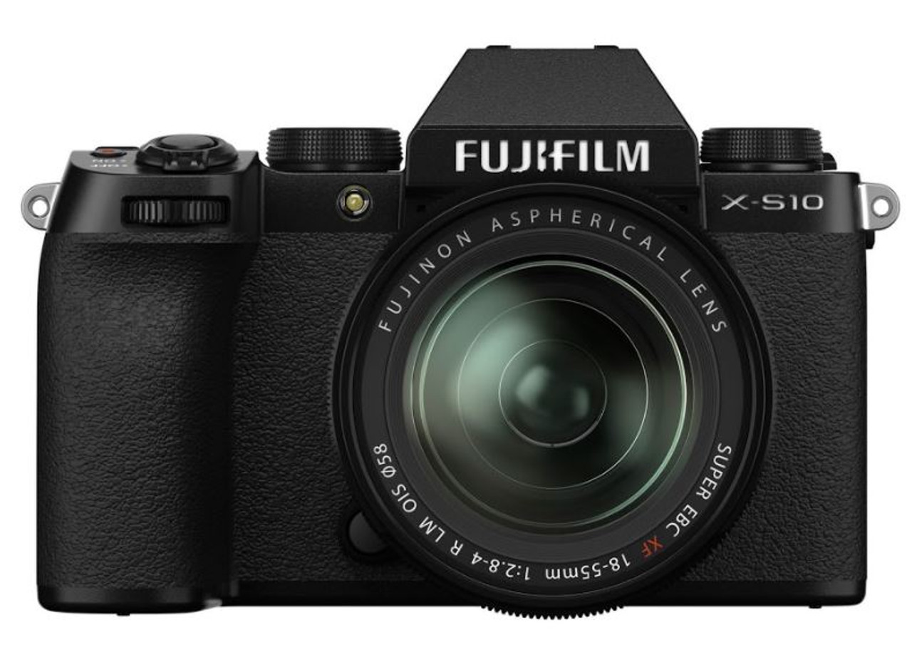 Fujifilm X-S10 Mirrorless Digital Camera with XF 18-55mm R LM OIS Lens