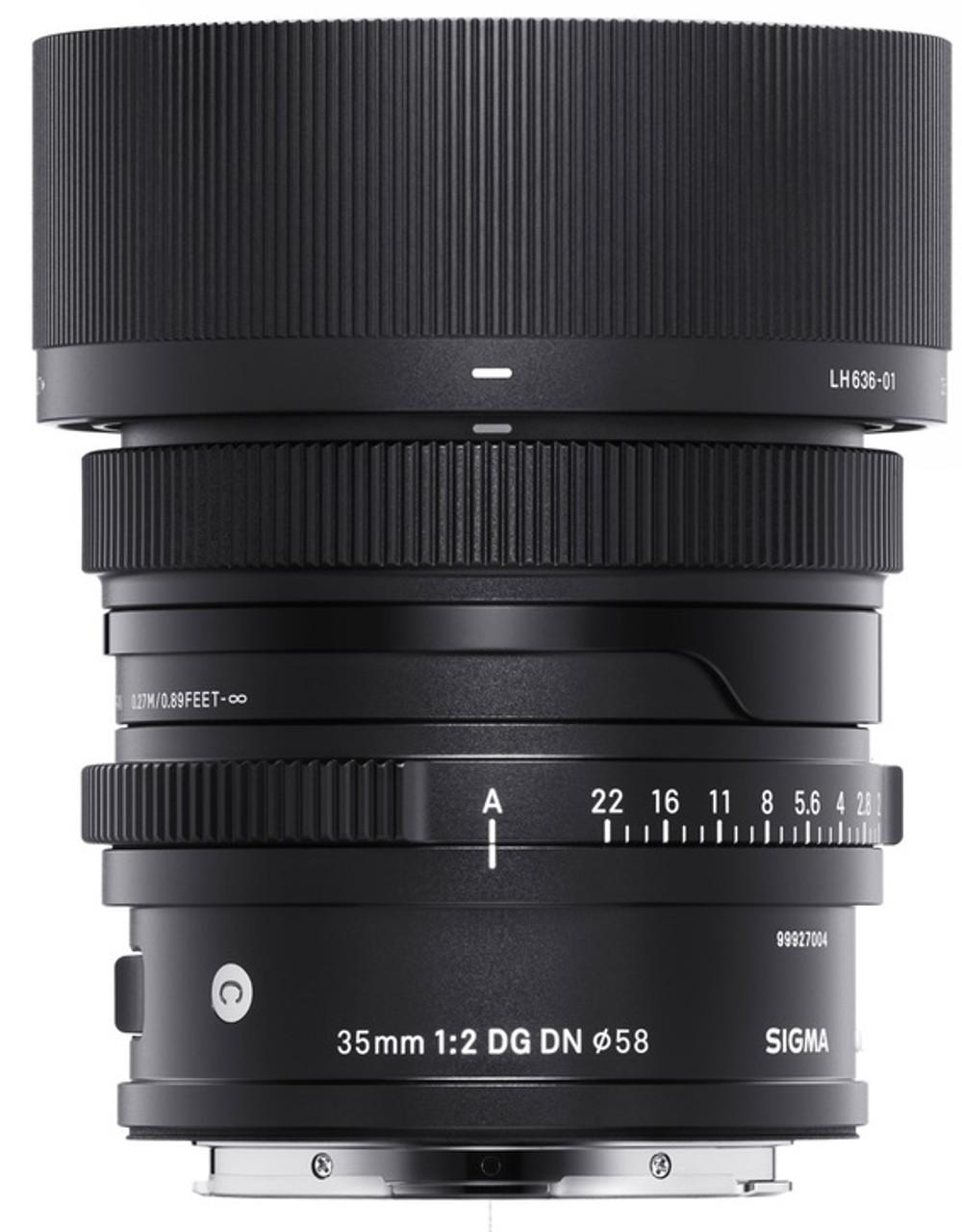 Sigma 35mm f/2 DG DN Contemporary for Leica L