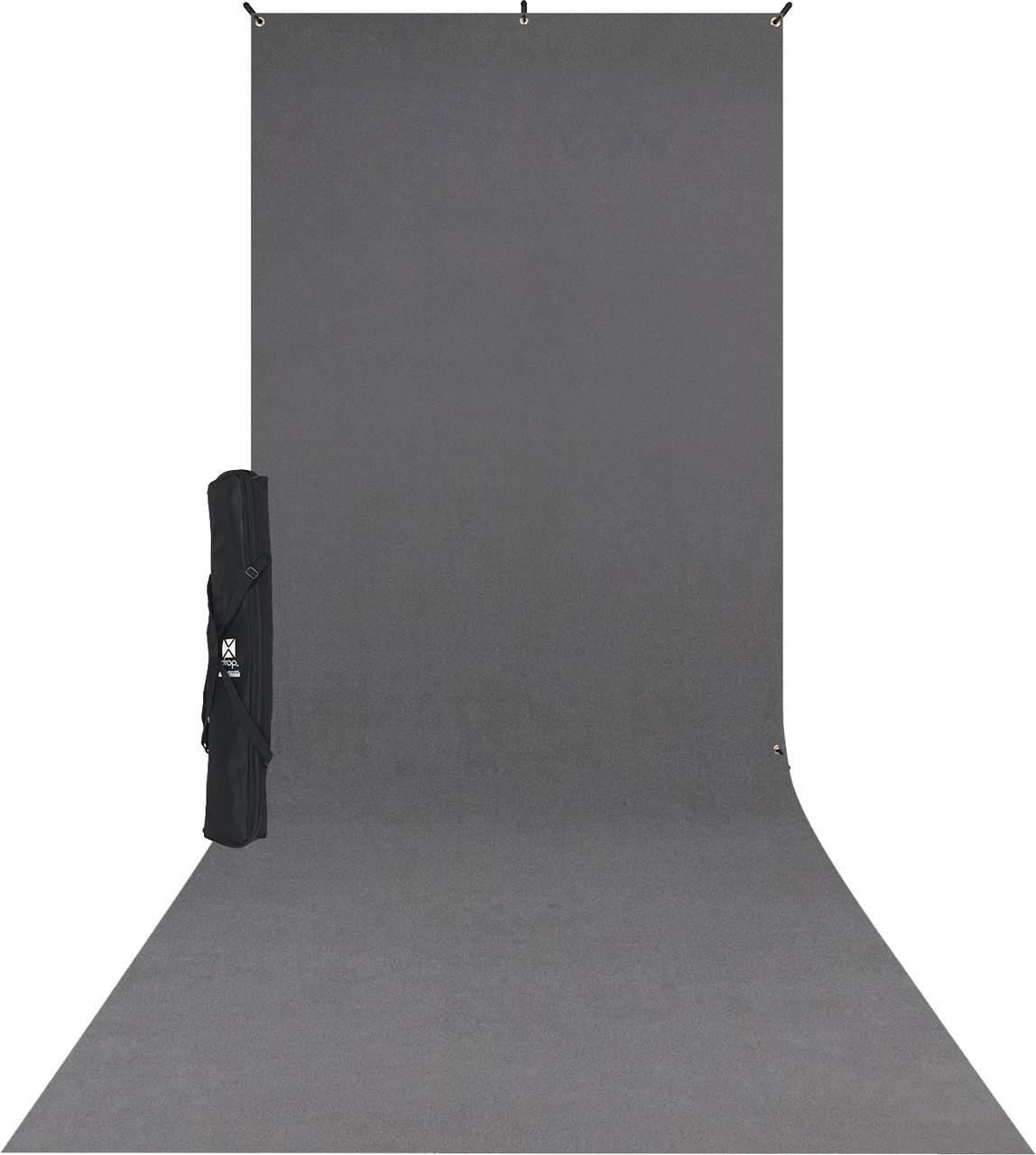 Westcott X-Drop Kit (5 x 12', Neutral Gray)