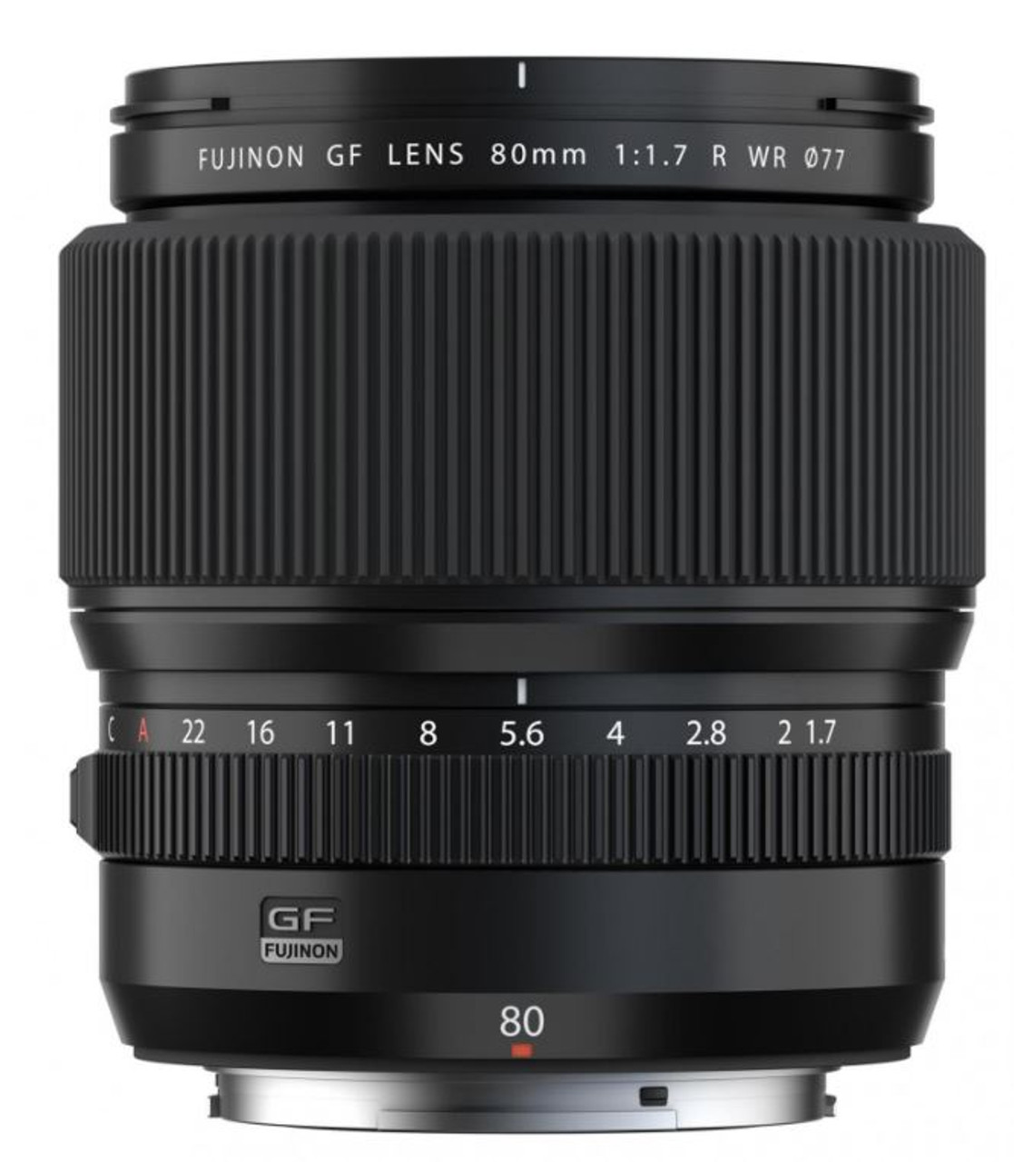 Fujifilm GF 80mm f/1.7 R WR Lens