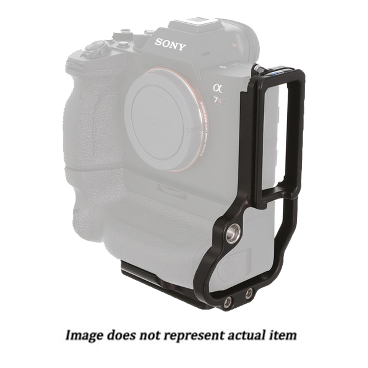 Kirk Enterprises L-Bracket for Sony Alpha a9 II, a7R IV, and a7S III Camera with VG-C4EM Vertical Grip (USED)