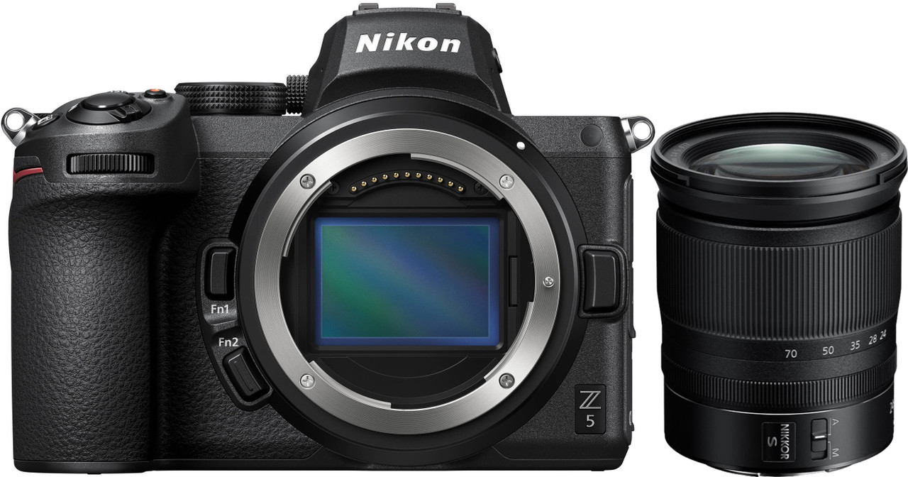 Nikon Z 5 Interchangeable Lens Mirrorless Camera with NIKKOR Z 24-70mm f/4 S Lens