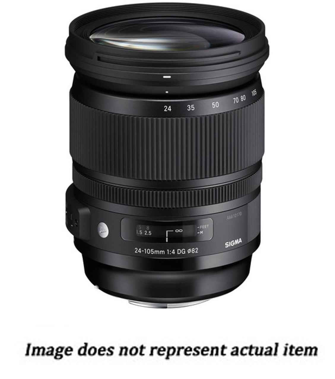 Sigma 24-105mm F/4 DG OS HSM Lens for Nikon (USED) - S/N 51764317