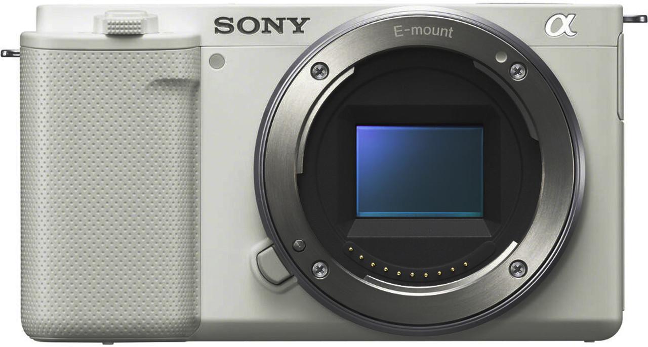 Sony ZV-E10 Interchangeable Lens Vlog Camera Body (White)