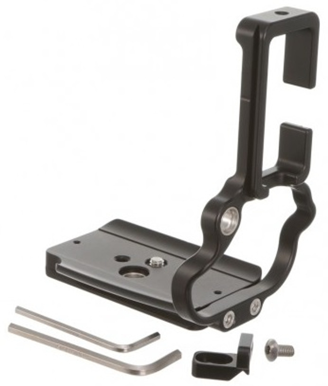 Kirk Enterprises L-Bracket for Canon EOS R5 and R6 Mirrorless Cameras with BG-R10 Grip