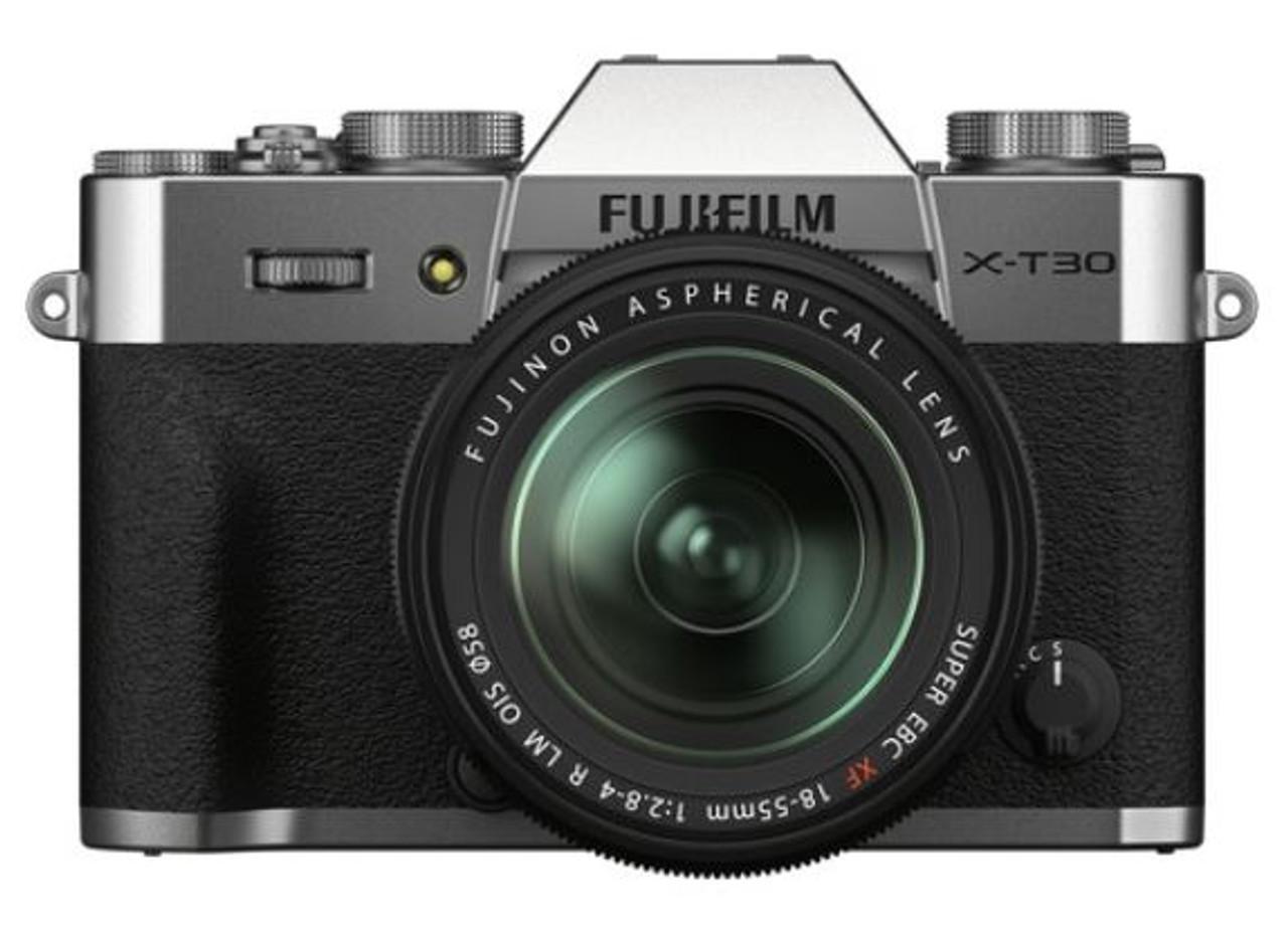 Fujifilm X-T30 II Mirrorless Digital Camera with 18-55mm Lens (Silver)