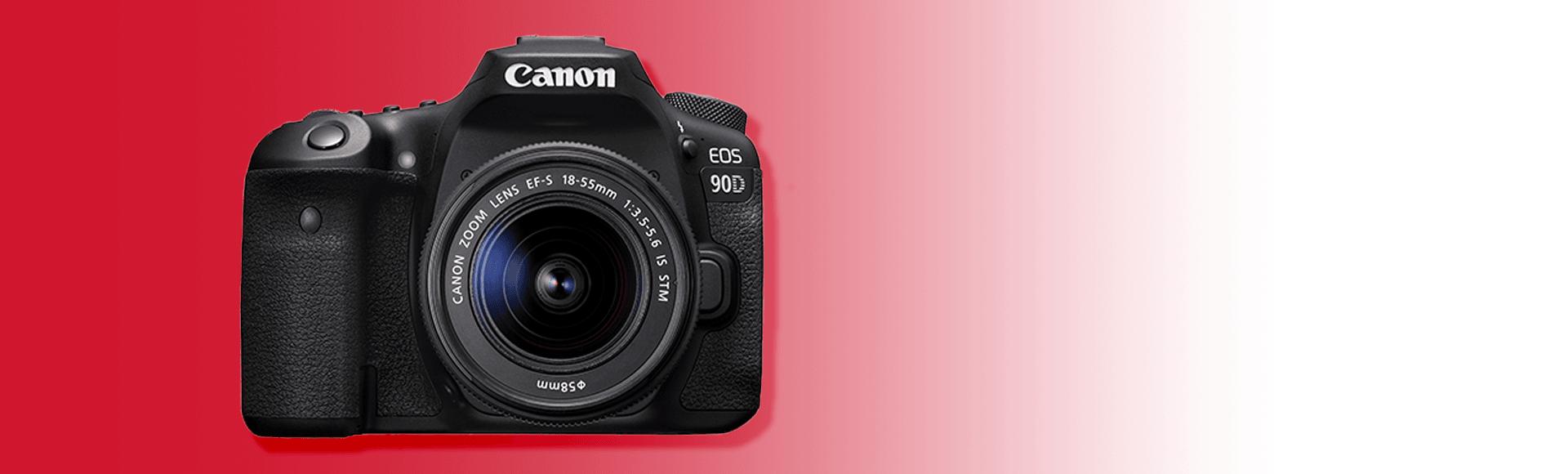 New Canon EOS 90D DSLR