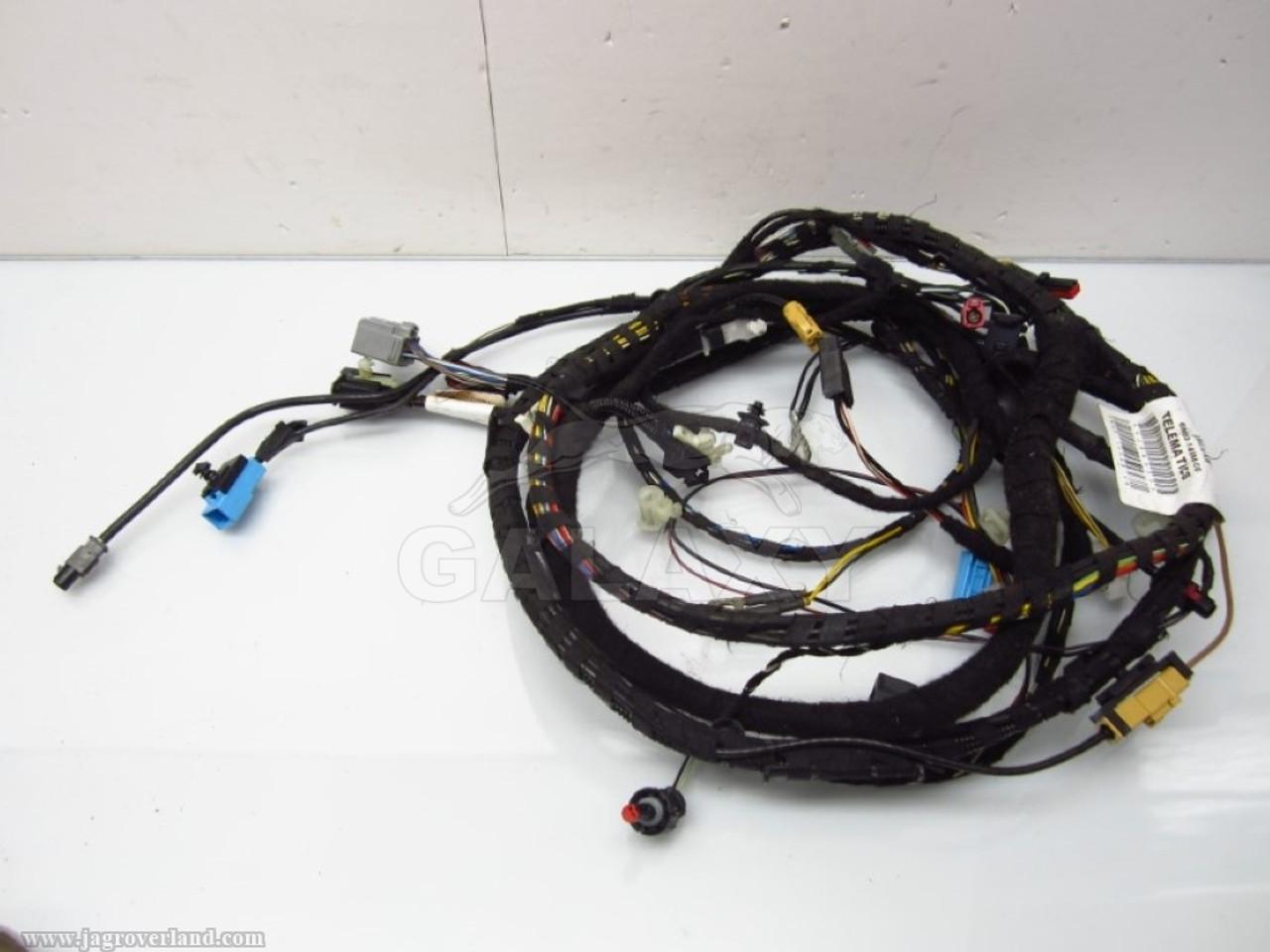 07 Xk R Dash Wiring Harness Telematics Loom 6W83-14588-Cg Jaguar Xf Trunk Wiring Harness on
