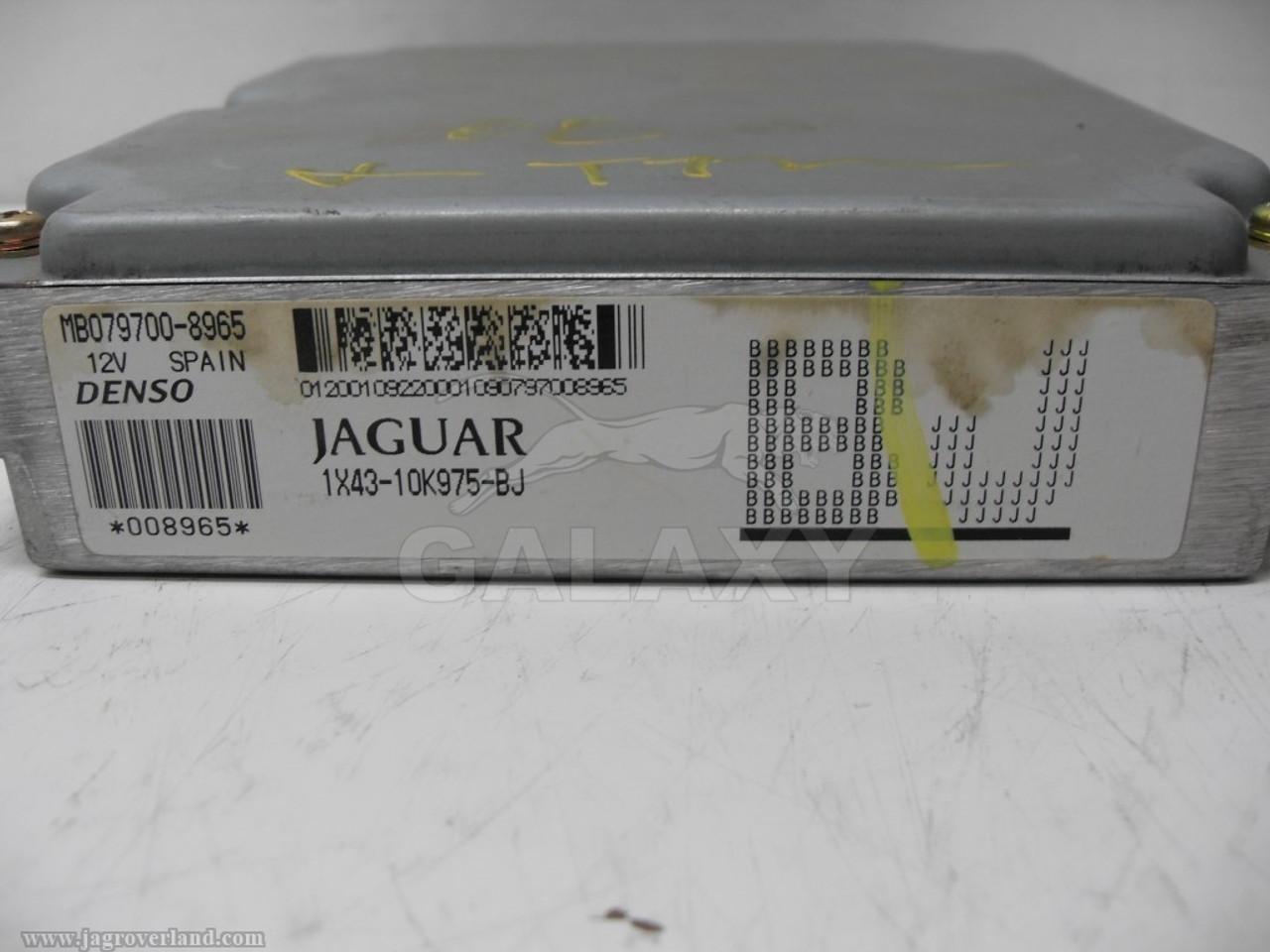 JAGUAR X TYPE 2001 2002 03 04 05 2006 ENGINE COMPUTER MODULE ECM 1X43-10K975-BM