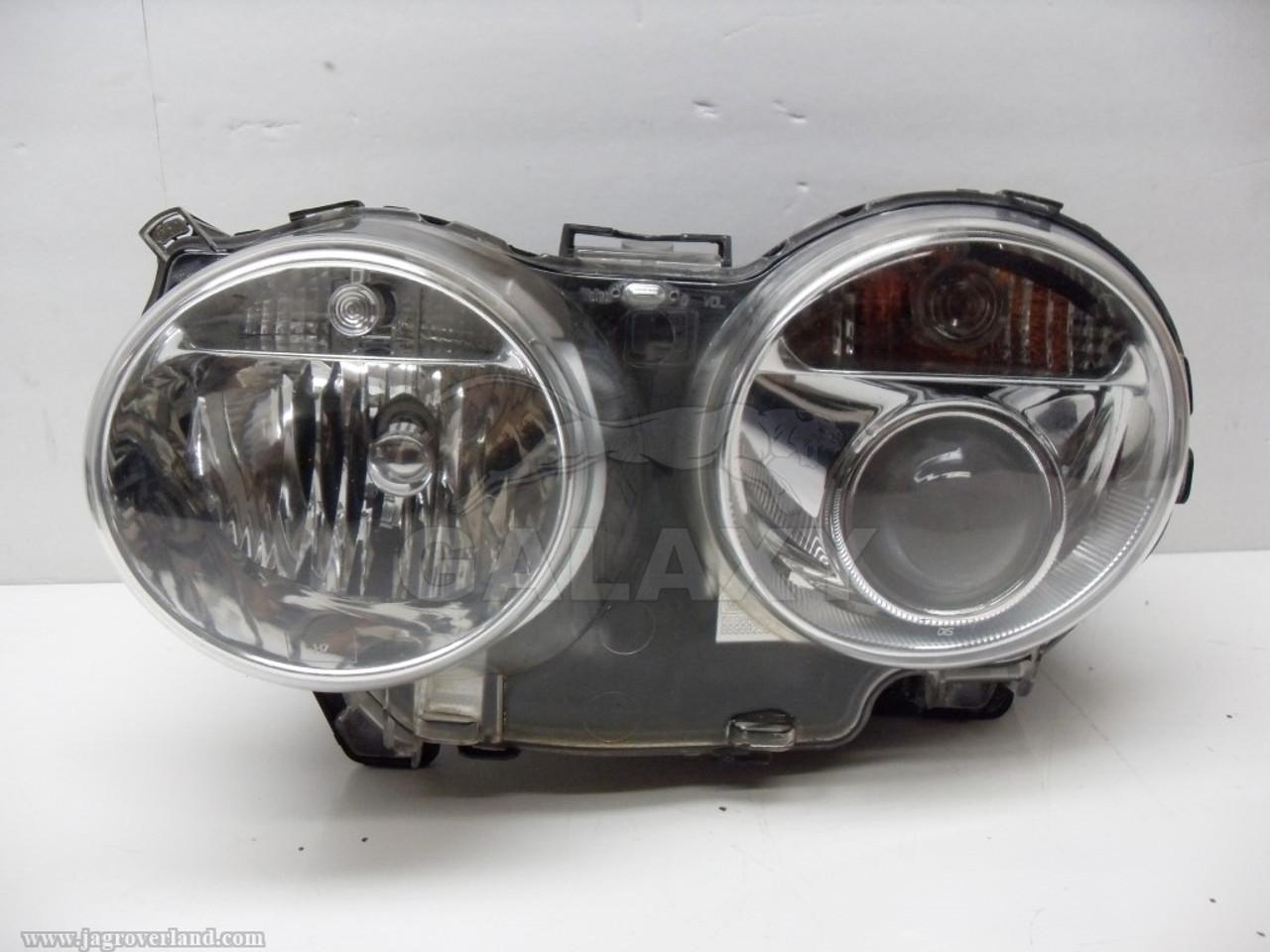 05-09 Xj8 Driver Left Clear Headlight Afs Hid Adaptive 9-Pin 2W93-13W030