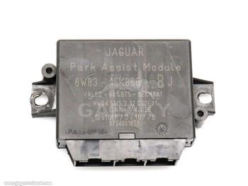 Control Module 07-10 XF Jaguar XK Parking Aid ECU 6W83-15K866-BJ C2P16705