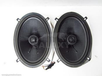 """Arc Audio Moto 692 6"""" X 9"""" 90 Watts Motorcycle Coaxial Speakers Broken"""