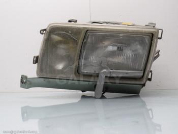 Mercedes W126 Front Left Headlight 560 420 380 Sel Se Oem w Wiper Motor 1305234007