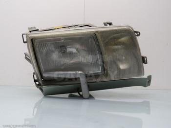 Mercedes W126 Front Right Headlight 560 420 380 Sel Se Oem w Wiper Motor 1305234008