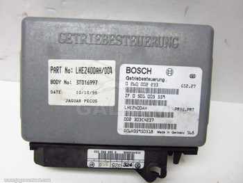 Transmission Control Module 95-96 Jaguar XJS TCU ECU Lhe2400Ah004 0501005559
