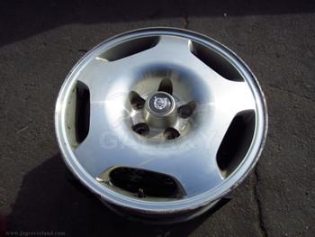 95-97 XJ6 XJ12 XJR X300 Oem 5 Spe Road Wheel Used 8Jx17Chx33Mm Mna6116Aa Aluminum Alloy Silver