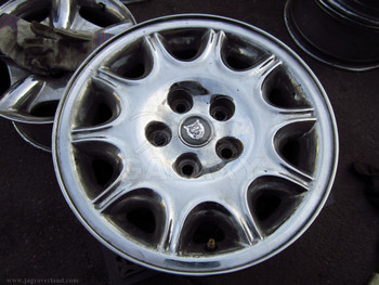00 XJ8 16X7 Chrome Road Wheel Mnc6113Aa