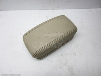 02-08 X-Type Armrest Lid Console Tan C2S30687Sel