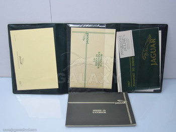 87 XJ6 Owners Manual Hand Bo Case Oem