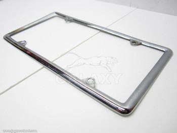 Regular Vintage License Plate Steel Chrome Frame Body Assy