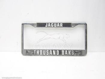 1947-2006 Thousand Oaks Dealer License Plate Body Assy