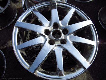 00-02 S-Type 17X7.5 Chrome Road Wheel Xr83-1007Ca