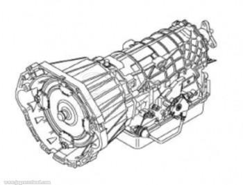 Transmission Assembly 1999-03 XJ XK 8 Automatic Zf5Hp24