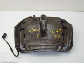 10-17 XF XJ XK R Supercharged Front Left Brake Mount Support Bracket Caliper C2D3797 C2D3795