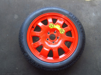 07-17 XK XJ XF Spare Wheel w Tire C2P12621