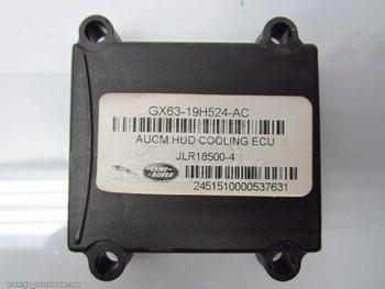 Cooling Fan Control Module 16-17 Jaguar XF F-Pace ECU Gx63-19H524-Ac T2H6812