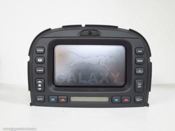 Navigation Info Screen 02-08 S-Type XR855621 2R83-10E889-AJ