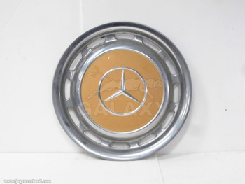 Wheel Cover 65-85 Mercedes Benz 14 inch 1154010324 Yellow