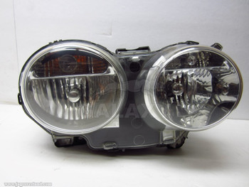 *04-08 XJ8 Oem Right Headlamp Headlight Halogen Lamp 6-Pin Used Shiny C2C22619 2W93-13W029-Bn