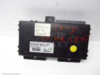 Control Module XR857237 2W9F-13C789-DD 03-08 S-Type Left 8-Way Seat ECU