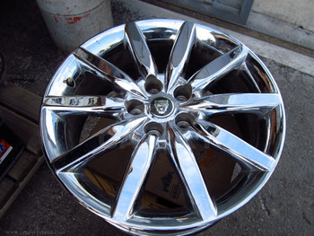 03 XK8 19X8 Chrome Road Wheel 4W83-1007-Ca