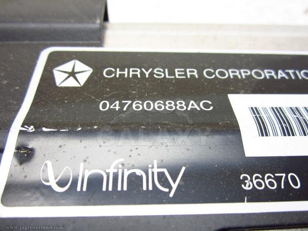 1998-2004 Chrysler 300M Amplifier 04760688Ac