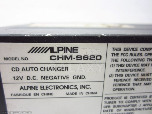 Alpine Cd Changer Chm-S620