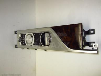 12 Xf Xfr Center Console Module W Dar Oak Trim Car Engine
