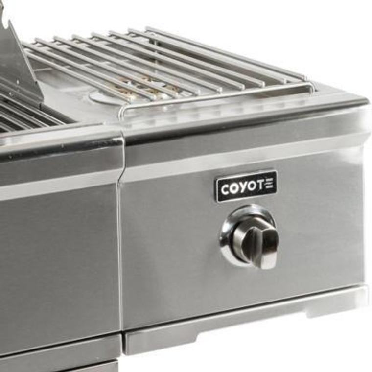 Coyote C Series Single Side Burner Grill Cart - C1CSB