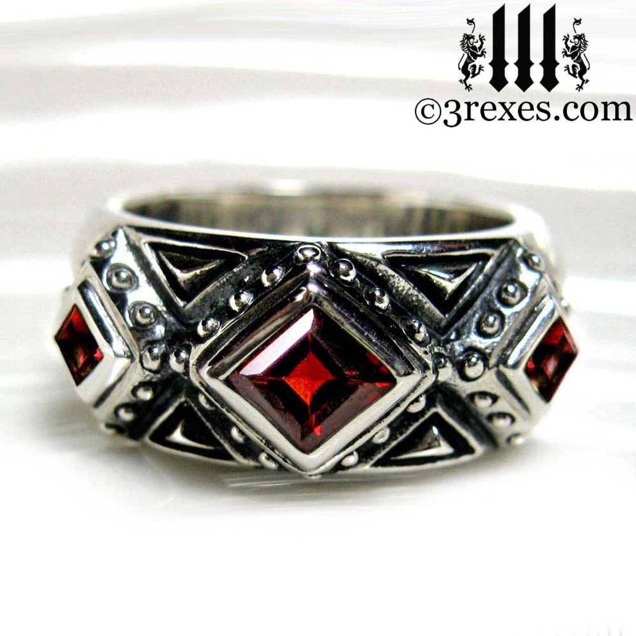 Gothic Wedding Rings.3 Kings Gothic Wedding Ring