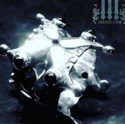 Gothic crown ring, alt wedding rings