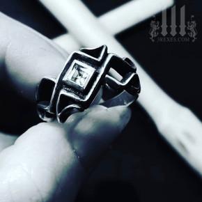 silver celtic ring for men