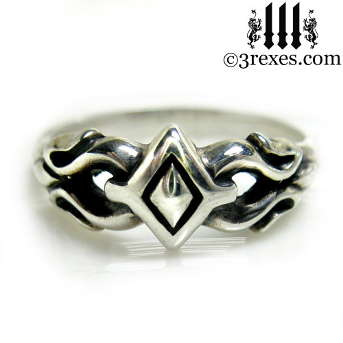 .925 sterling silver friendship ring