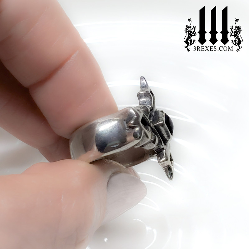 Cathedral Gothic Silver Ring