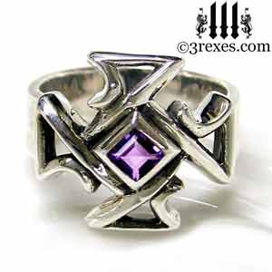 bohemian-cross-band-ring-amethyst-stone-mens-silver-band-300.jpg