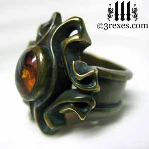 brass-empress-vampire-ring-amber-stone-madel-gothic-jewelry-side-300.jpg