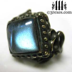 brass-raven-love-wedding-ring-gothic-labradorite-stone-cocktail-band